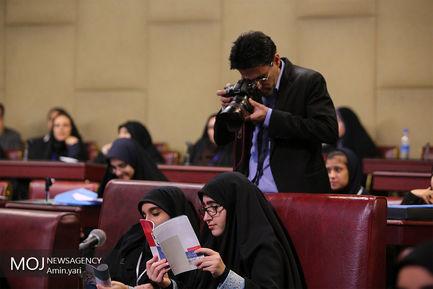 افتتاح نهمین دوره مجلس دانش آموزی
