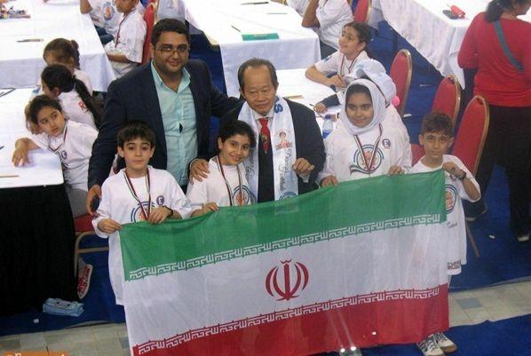 افتخارآفرینی دانشآموزان کرمانشاهی در مسابقات جهانی محاسبات ذهنی مالزی