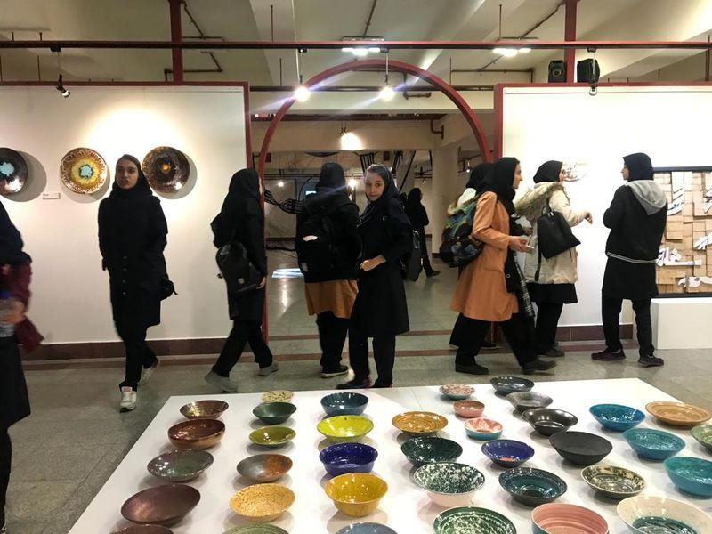 استقبال گسترده از بخش طوبای زرین جشنواره هنرهای تجسمی فجر