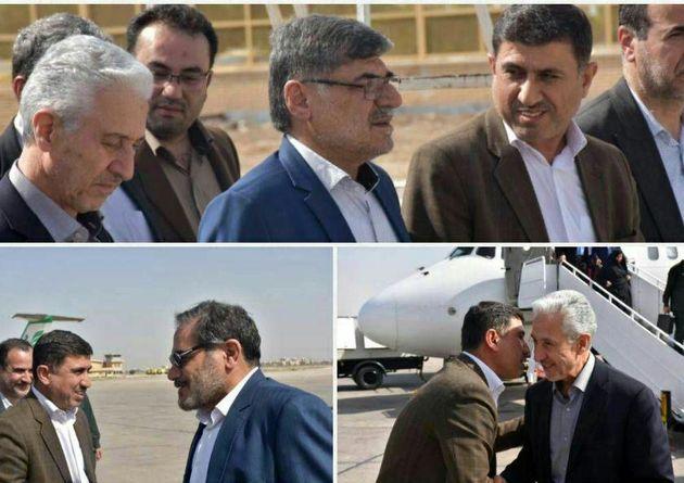 وزیر علوم با همراهی دبیر شورای عالی امنیت ملی وارد خوزستان شد