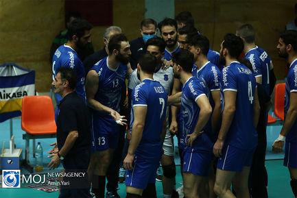 دیدار تیم های والیبال پیکان و شهرداری قزوین - ۲۹ بهمن ۱۳۹۹