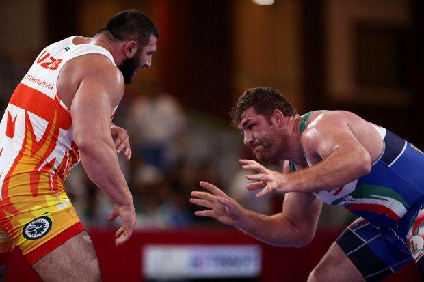 مدال طلای پرویز هادی در مسابقات دانکلوف