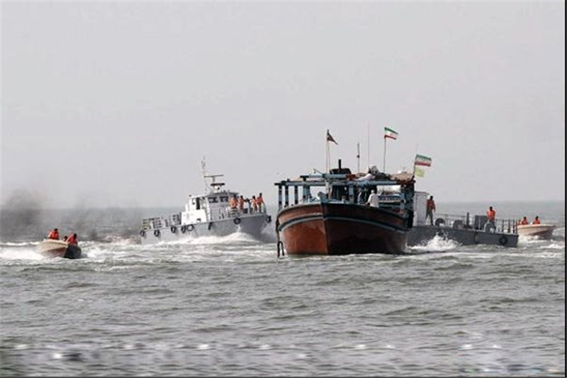 بیش از 122 میلیارد ریال انواع کالای قاچاق در آب های خوزستان کشف شد