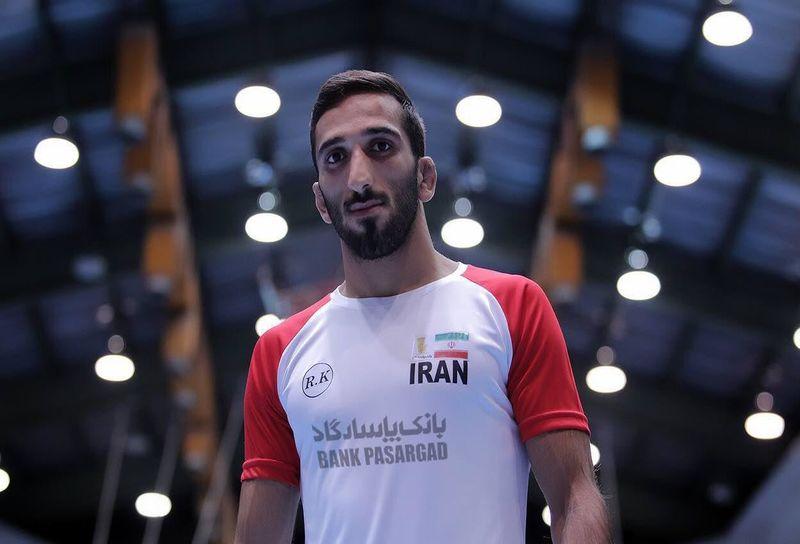 رقبای محمدباقر یخشکی در مسابقات جهانی کشتی آزاد قهرمانی جهان در وزن 61 کیلوگرم