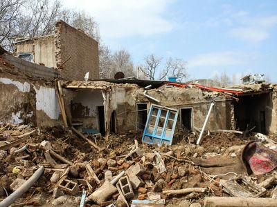 اتمام بازسازی خانههای روستای چنار قبل از آغاز فصل سرما