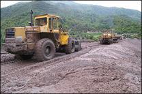 مسیرهای مسدود شده در علی آباد کتول بازگشایی شد