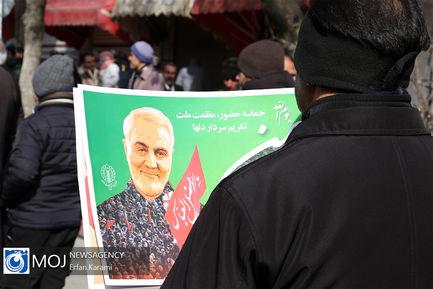 راهپیمایی ۲۲ بهمن در سنندج