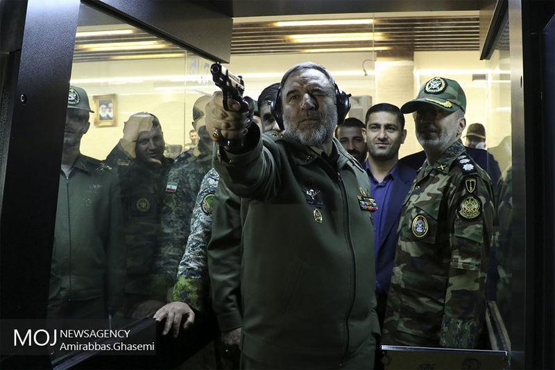 افتتاح سالن تیراندازی مرکز آموزش درجه داری ارتش