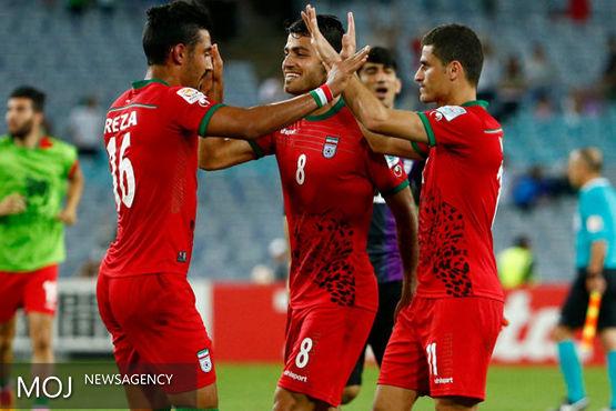 ایران ۲ - قطر صفر / ایران در وقتهای اضافه پیروز شد