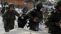 رژیم صهیونیستی 22 فلسطینی را در کرانه باختری بازداشت کرد