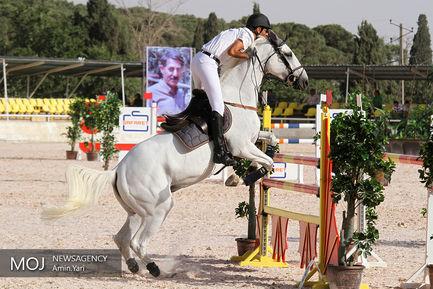 مسابقات پرش با اسب جام زنده یاد سرهنگ نشاطی