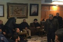 مقتدی صدر در منزل شهید سردار سلیمانی حضور یافت