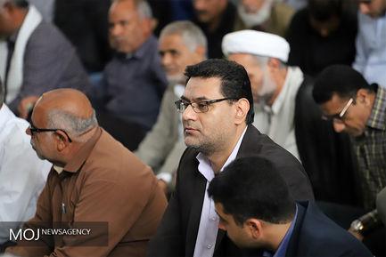 مراسم ختم فرزند محمد ذاکری رییس شورای هماهنگی