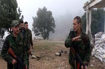ارتش سوریه مواضع تروریست ها را شرق حماه هدف حمله قرار دادند