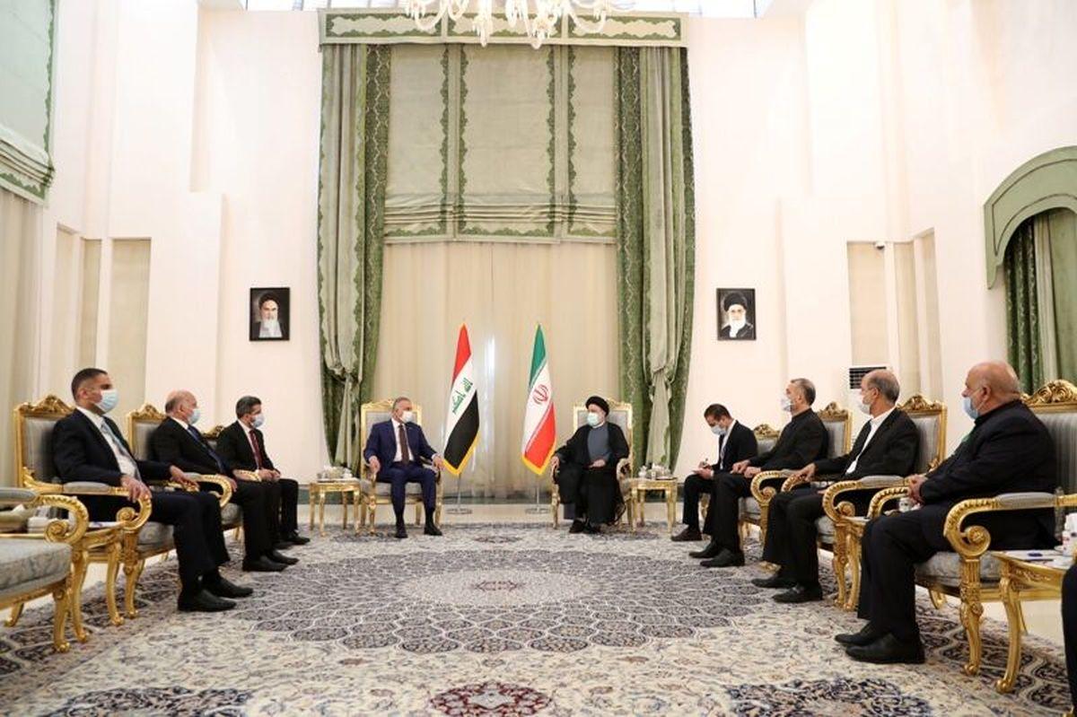 تاکید رئیسی بر اجرای تعهدات عراق درباره مطالبات مالی ایران