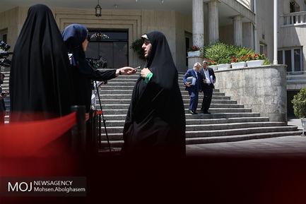 حاشیه جلسه هیات دولت - ۲۵ اردیبهشت ۱۳۹۸