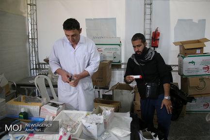 خدمات رایگان پزشکی شهرداری تهران به زائران کربلای معلا
