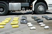 کشف 123 کیلو تریاک از یک کامیون در اصفهان / دستگیری 2 سوداگر مرگ