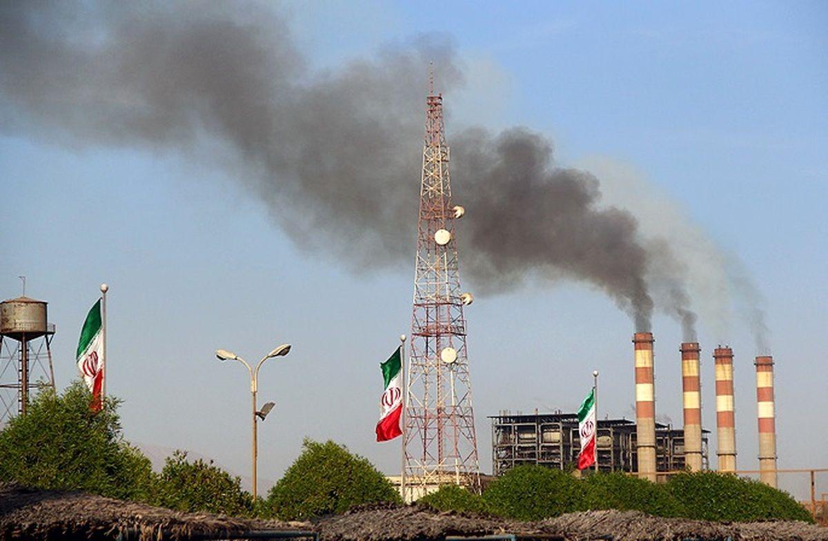 ضرب العجل یک ماهه محیط زیست برای استفاده از گاز در نیروگاه های بندرعباس