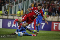 دیدار تیم های فوتبال پرسپولیس ایران و الریان قطر در ورزشگاه آزادی(1)
