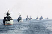 آغاز رژهی دریایی نیروهای مسلح در بندرعباس