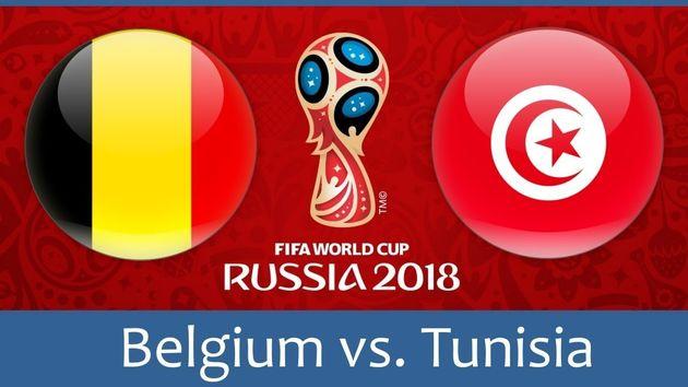 ساعت بازی بلژیک و تونس در جام جهانی
