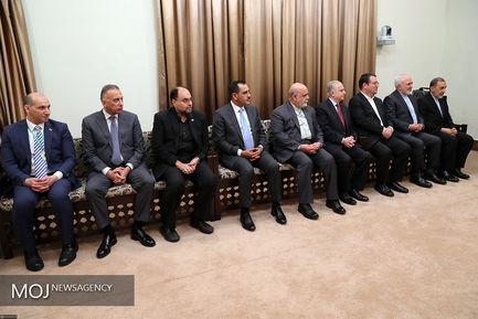 دیدار رییس جمهوری عراق با مقام معظم رهبری