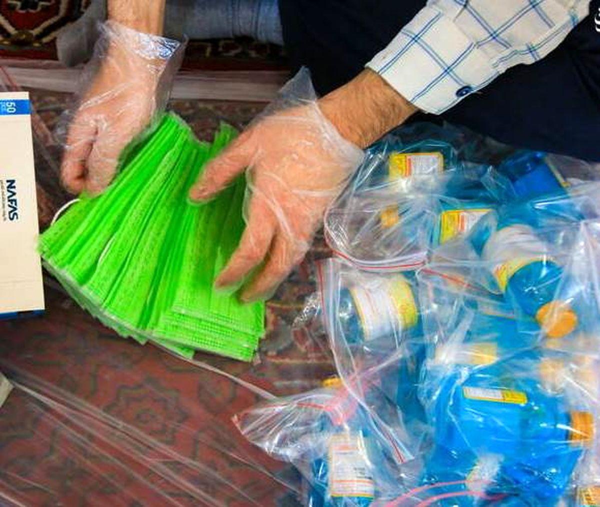 توزیع 5 هزاربسته بهداشتی در جرقویه علیا