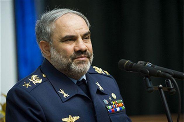 فرمانده نیروی هوایی ارتش از یادمان شهدای پایگاه شکاری شهید یاسینی رونمایی کرد