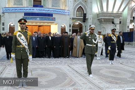 تجدید بیعت رییس جمهوری و اعضای هیات دولت