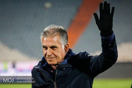 دیدار دوستانه تیم های فوتبال ایران و ترینیداد و توباگو/کارلوس کیروش