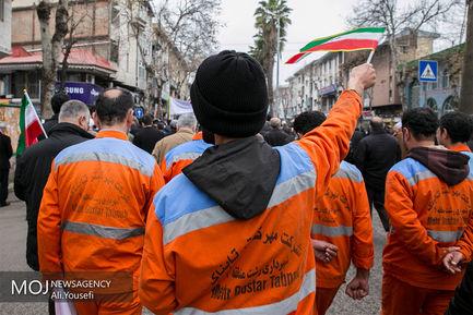 جشن انقلاب اسلامی در رشت