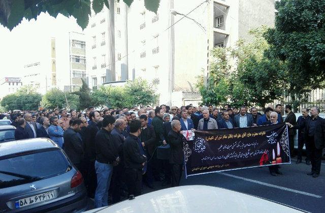 پیکر قائم مقام دبیر شورای نگهبان تشییع شد