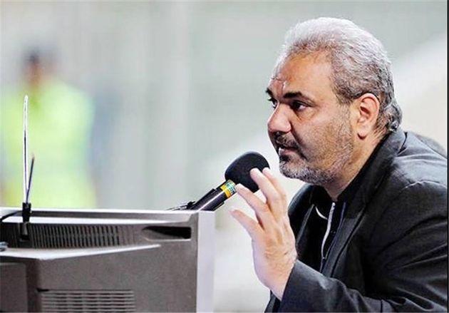 جواد خیابانی گزارشگر بازی ایران و اسپانیا  شد