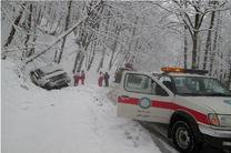 وقوع برف و کولاک در 5 استان کشور/ رها سازی 130  دستگاه گرفتار در برف