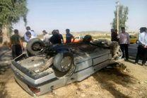 10 کشته و مصدوم در اثر واژگونی پژو حامل اتباع بیگانه در جاده میناب-بندرعباس