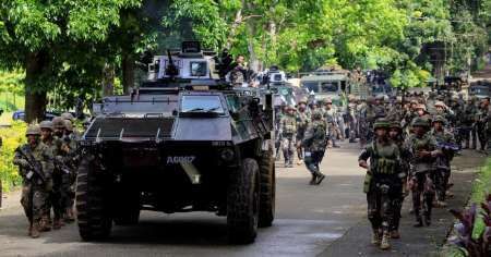 ارتش فیلیپین: 90 درصد شهر مراوی از وجود تروریست ها پاکسازی شد