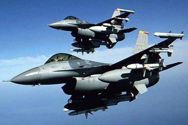 جنگنده اف-16 آمریکا سقوط کرد