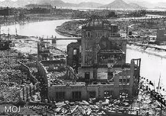 هیروشیما؛ خون سرخ دخترک بر دیوار کاخ سفید + عکس