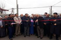 افتتاح پروژه های عمرانی بخش کرگانرود تالش