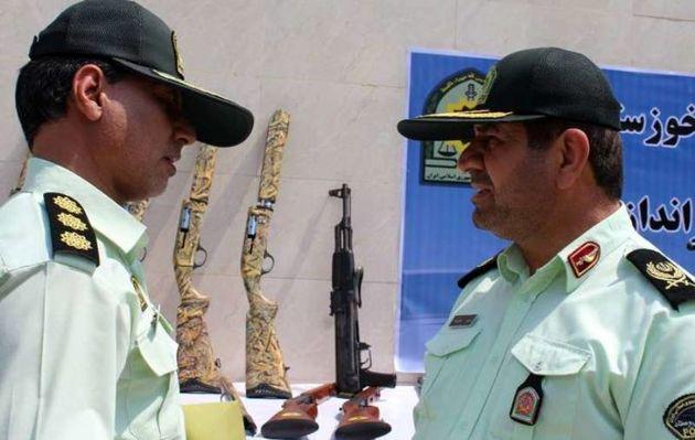کشف 93 قبضه سلاح غیرمجاز و دستگیری 88 نفر در خوزستان