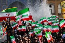 آغاز مسیر راهپیمایی ۲۲ بهمن میبد از مسجد انقلاب