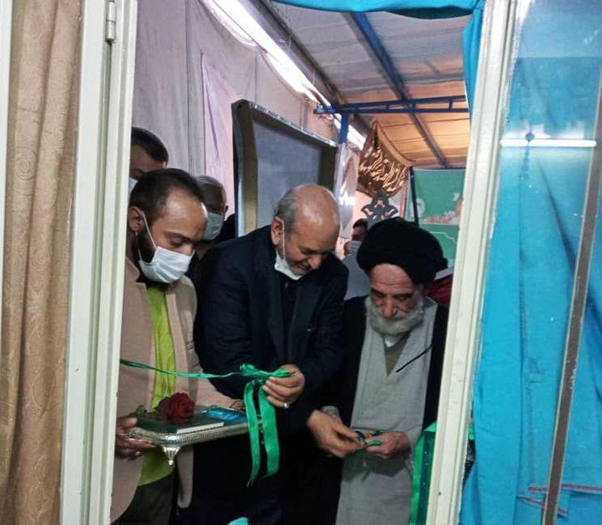 افتتاح کانون محله ای بهشت کرامت در پایگاه بسیج رسول اکرم(ص)در محله اندان