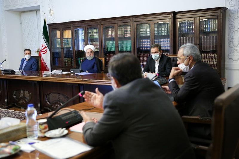 برگزاری جلسه ستاد هماهنگی اقتصادی دولت به ریاست روحانی