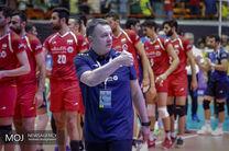 صحبتهای سرمربی و سرپرست تیم ملی والیبال پیش از بازی با آمریکا