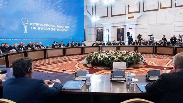 پایان مذاکرات آستانه ۳ بدون حضور هیات مخالفان مسلح/ دور جدید مذاکرات سوم و چهارم مه