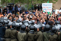 تجمع در میدان شهدا فاقد مجوز قانونی بود