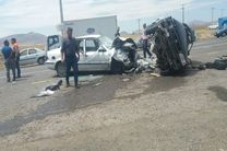 تصادف در خلخال و نیر 11 نفر را روانه بیمارستان کرد