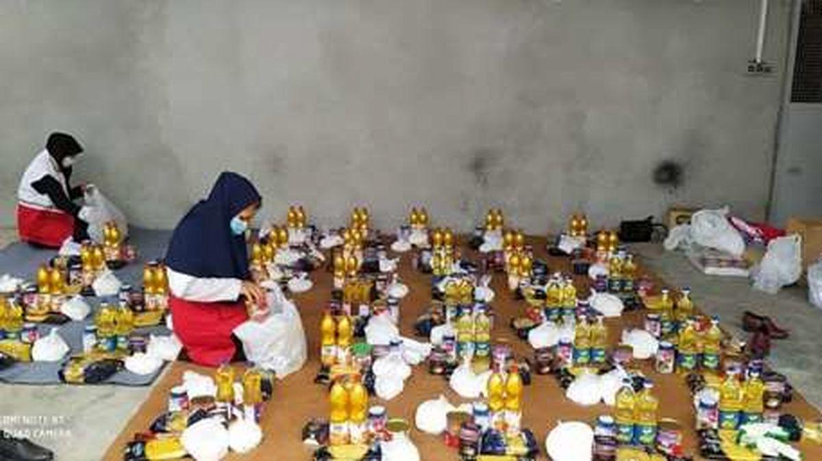 3500 بسته معیشتی و بهداشتی در میان متأثرین از کرونا در مازندران توزیع شد