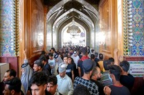 حضور میلیونی زائران عراقی در حرم علوی